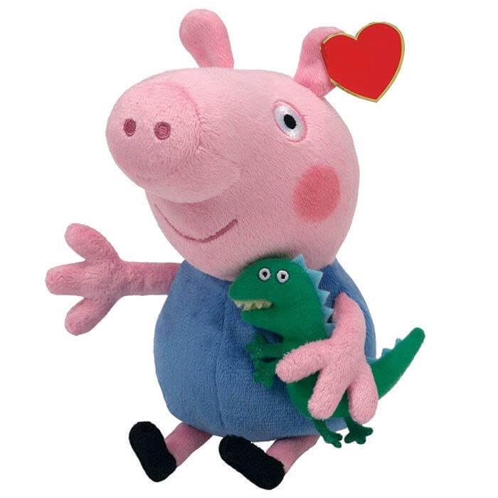 свинка пеппа мягкие игрушки катя и максим