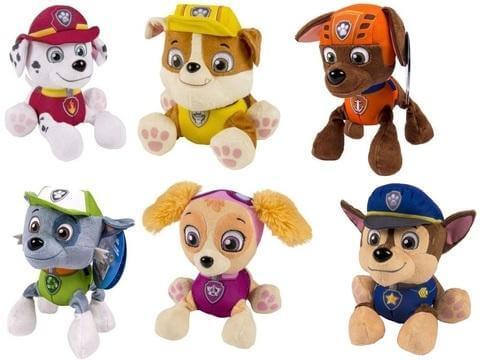Картинки щенячий патруль мягкие игрушки